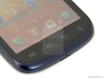 Android capacitive buttons - Samsung Exhibit II 4G Review