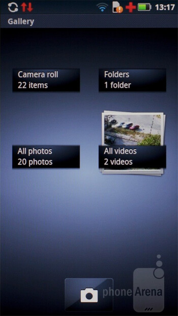 Gallery - Motorola has also placed its marked on some of the core apps - Motorola DEFY+ Review