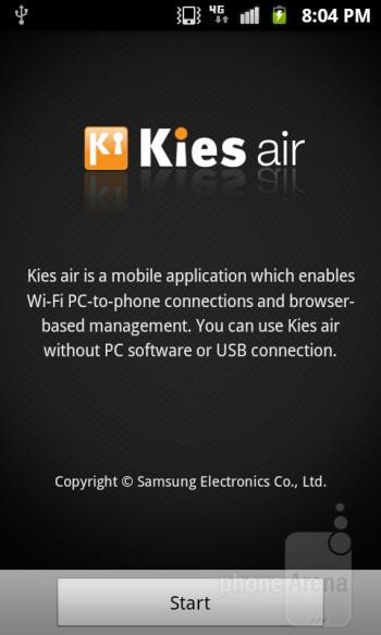 Preloaded apps on the Samsung Exhibit II 4G - Samsung Exhibit II 4G Review