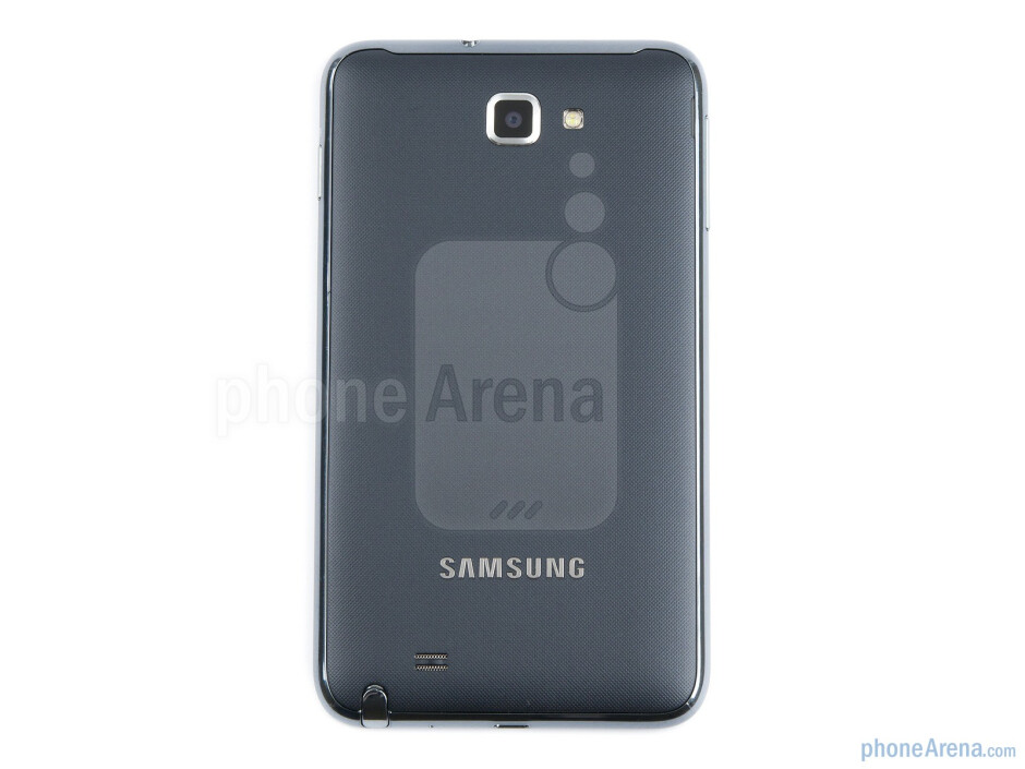 Back - Samsung GALAXY Note Review