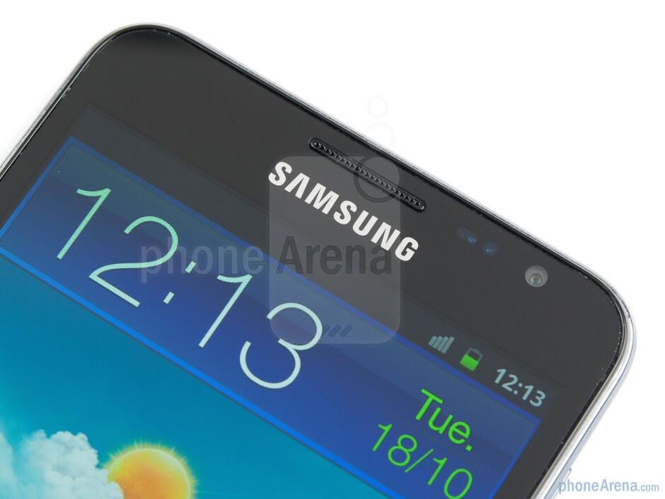 "The Samsung GALAXY Note uses a gargantuan 5.3"" display - Samsung GALAXY Note Review"