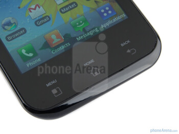 Capacitive buttons - LG Optimus Sol Preview