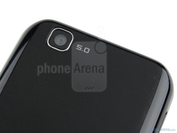 Rear camera - LG Optimus Sol Preview