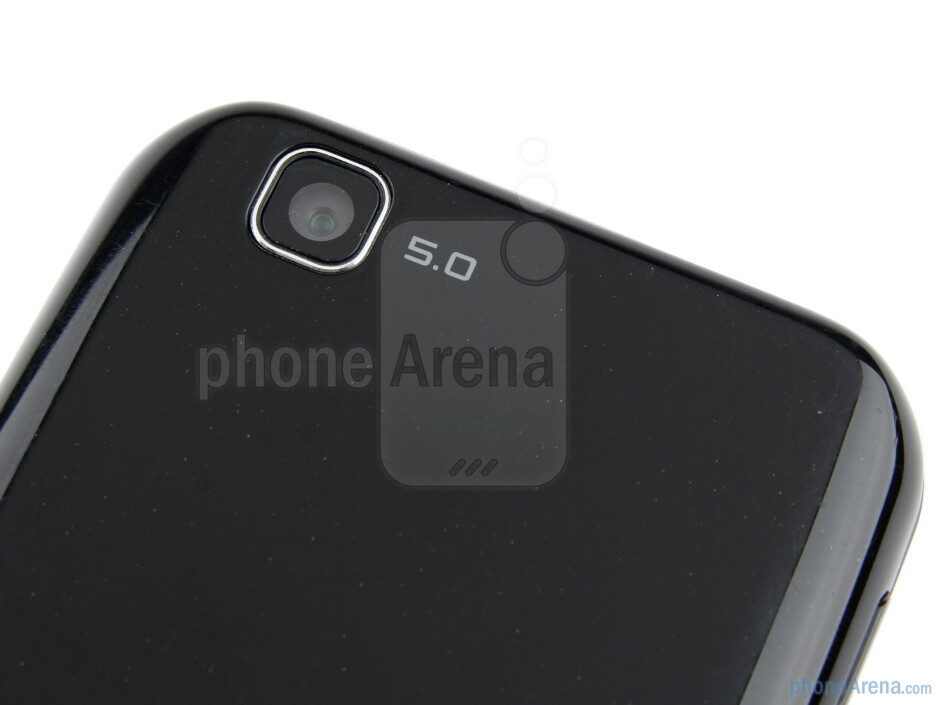 Rear camera - LG Optimus Sol Preview