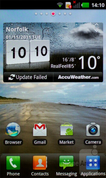LG's Optimus UI installed on top of Android 2.3.4 Gingerbread is what runs on the LG Optimus Sol - LG Optimus Sol Preview