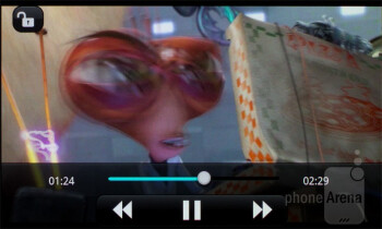 Video player - LG Optimus Sol Preview
