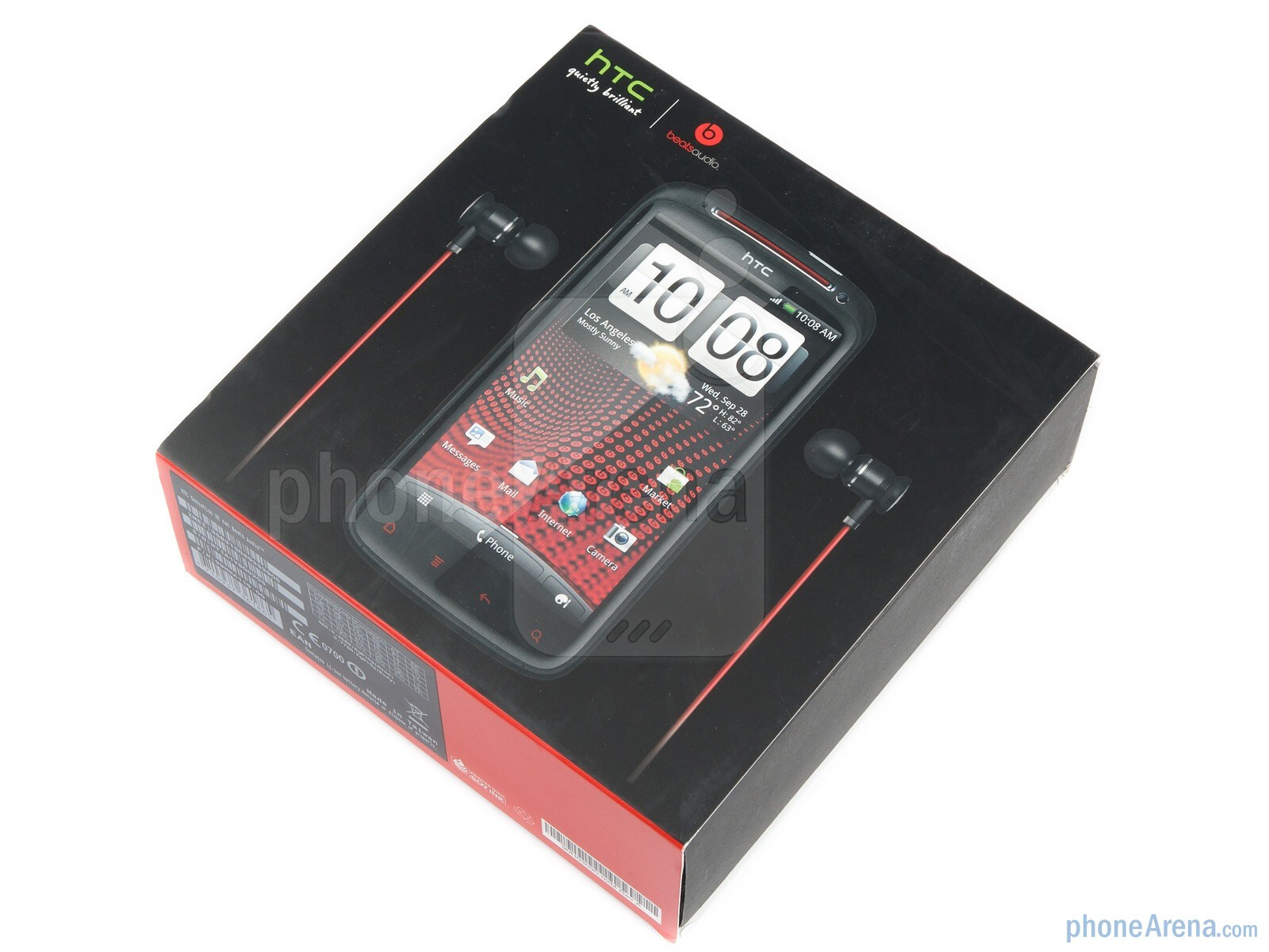 htc sensation xe sim free smartphone (beats audio free )