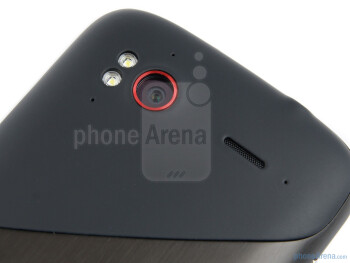The rear camera - HTC Sensation XE Review