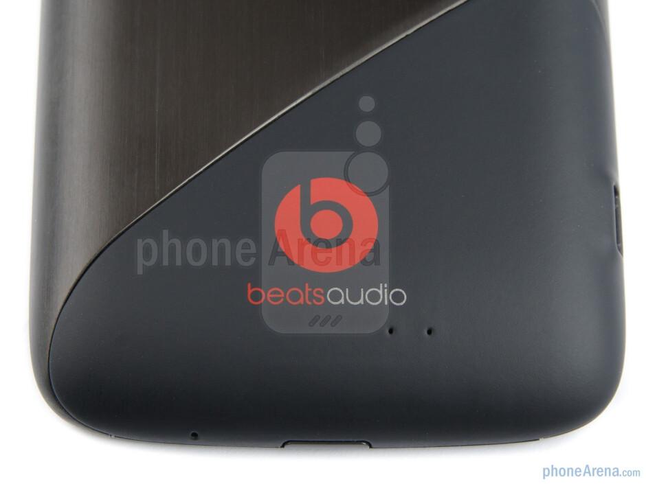 The Beats logo - HTC Sensation XE Review