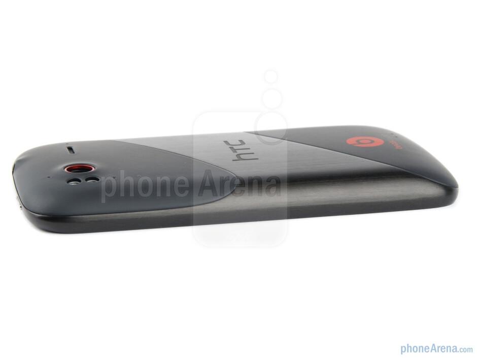 Right edge - HTC Sensation XE Review