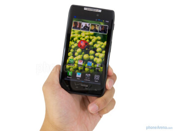 The Motorola DROID RAZR is constructed out of the finest materials out there - Motorola DROID RAZR Review