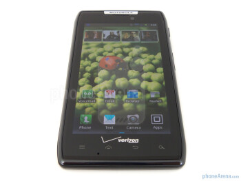 Viewing angles of the Motorola DROID R