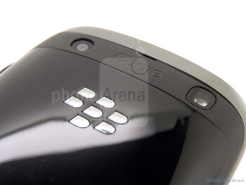 The 5-megapixel shooter on the back - RIM BlackBerry Curve 9350 Review