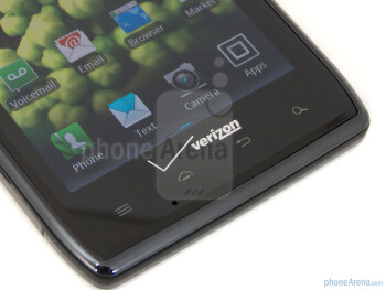 Android buttons - Motorola DROID RAZR Review