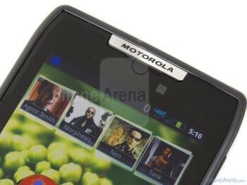 Front-facing camera - Motorola DROID RAZR Review
