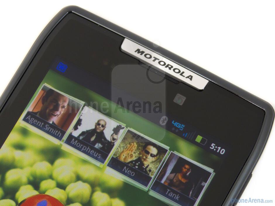 Front-facing camera - Motorola DROID RAZR Review