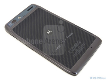 Back - Motorola DROID RAZR Review