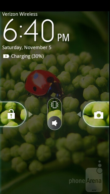 The Motorola DROID RAZR has the latest customized MOTOBLUR on top of Android 2.3.5 - Motorola DROID RAZR Review