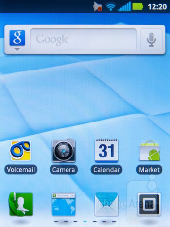 The Motorola Admiral runs Android 2.3.5 with Motorola Blur on top - Motorola Admiral Review