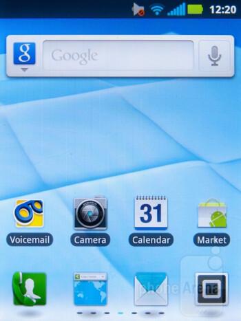 The Motorola Admiral runs Android 2.3.5 with Motorola Blur on top - Motorola Admiral Review