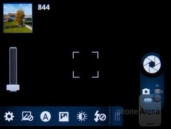 Camera interface - Motorola Admiral Review