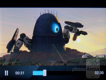 Video playback - Motorola Admiral Review
