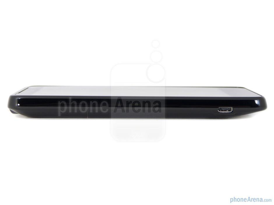 microUSB port (left) - HTC Vivid Review