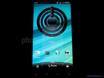 The HTC Vivid packs a 4.5 inch qHD S-LCD display - HTC Vivid Review