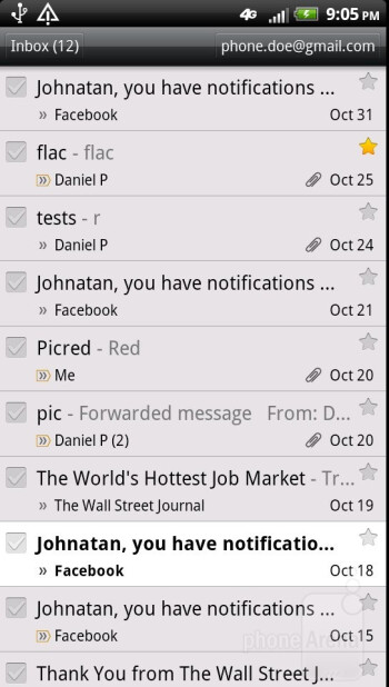 Gmail - HTC Vivid Review
