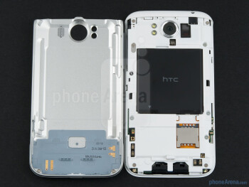 Battery compartment - HTC Sensation XL Review
