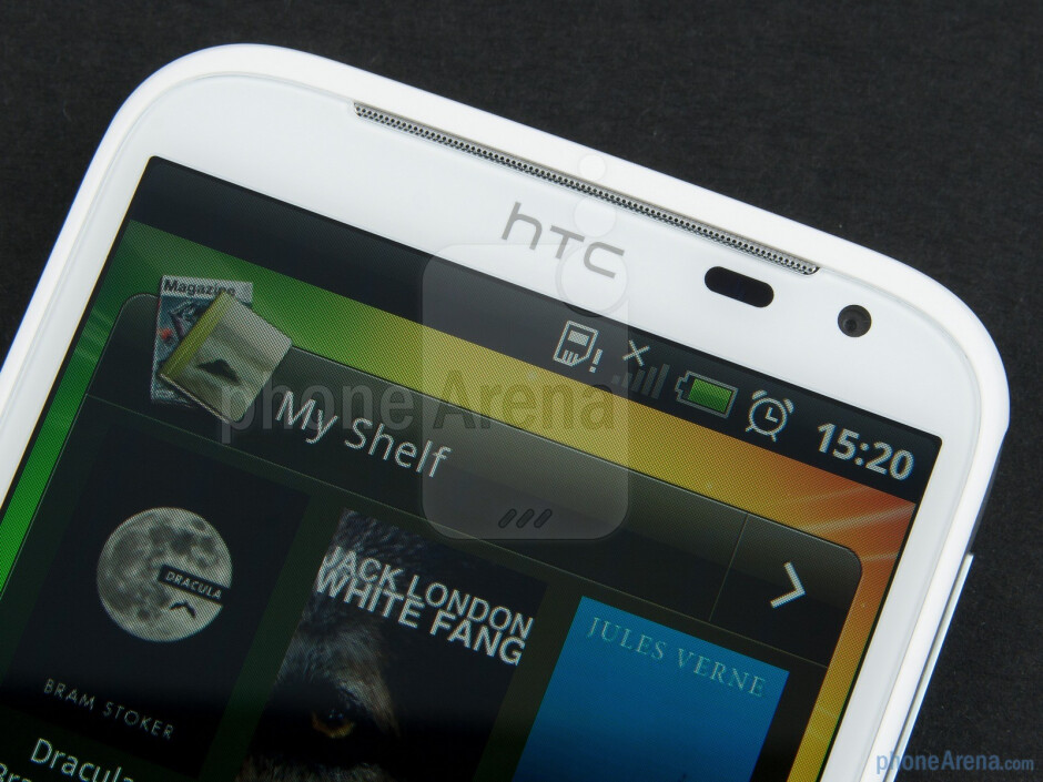Front facing camera - HTC Sensation XL Review