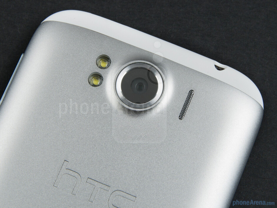 Camera with flash - HTC Sensation XL Review
