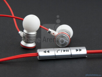 The Beats Audio headphones - HTC Sensation XL Review