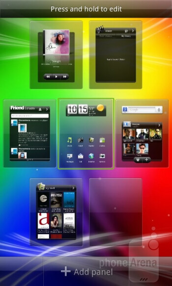 The HTC Sensation XL runs Android 2.3 Gingerbread with the newest HTC Sense 3.5 on top - HTC Sensation XL Review