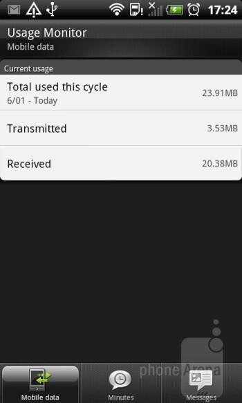 Preloaded apps on the HTC Sensation XL - HTC Sensation XL Review