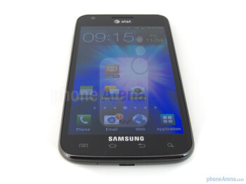 The Samsung Galaxy S II Skyrocket packs a 4.5