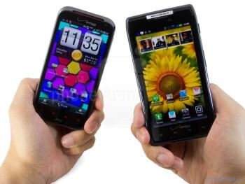 Motorola DROID RAZR vs HTC Rezound