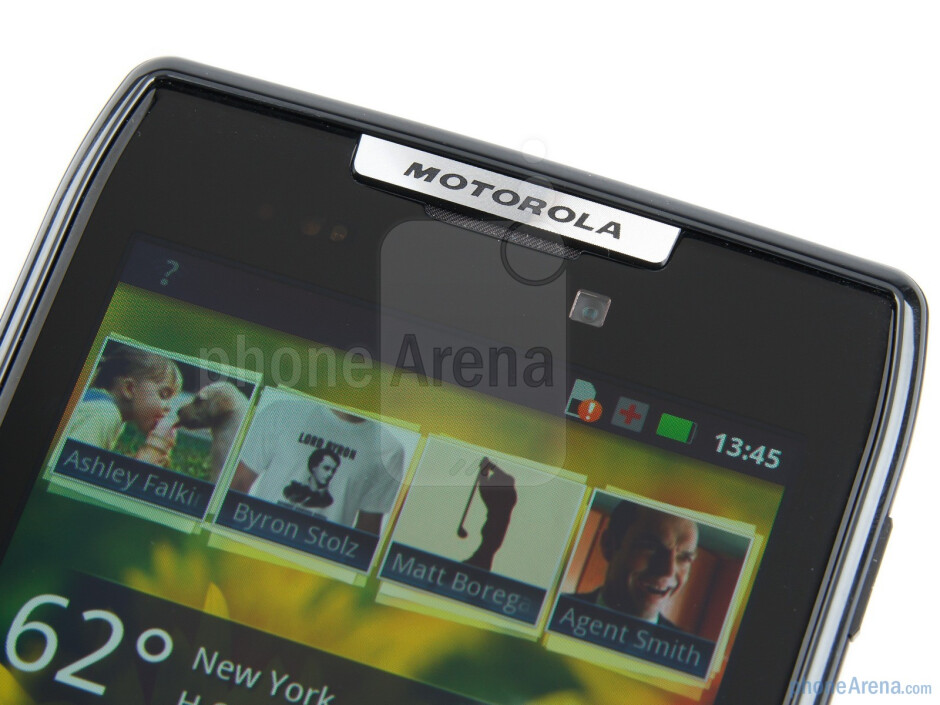 Front-facing 1.3-megapixel camera - Motorola RAZR Review