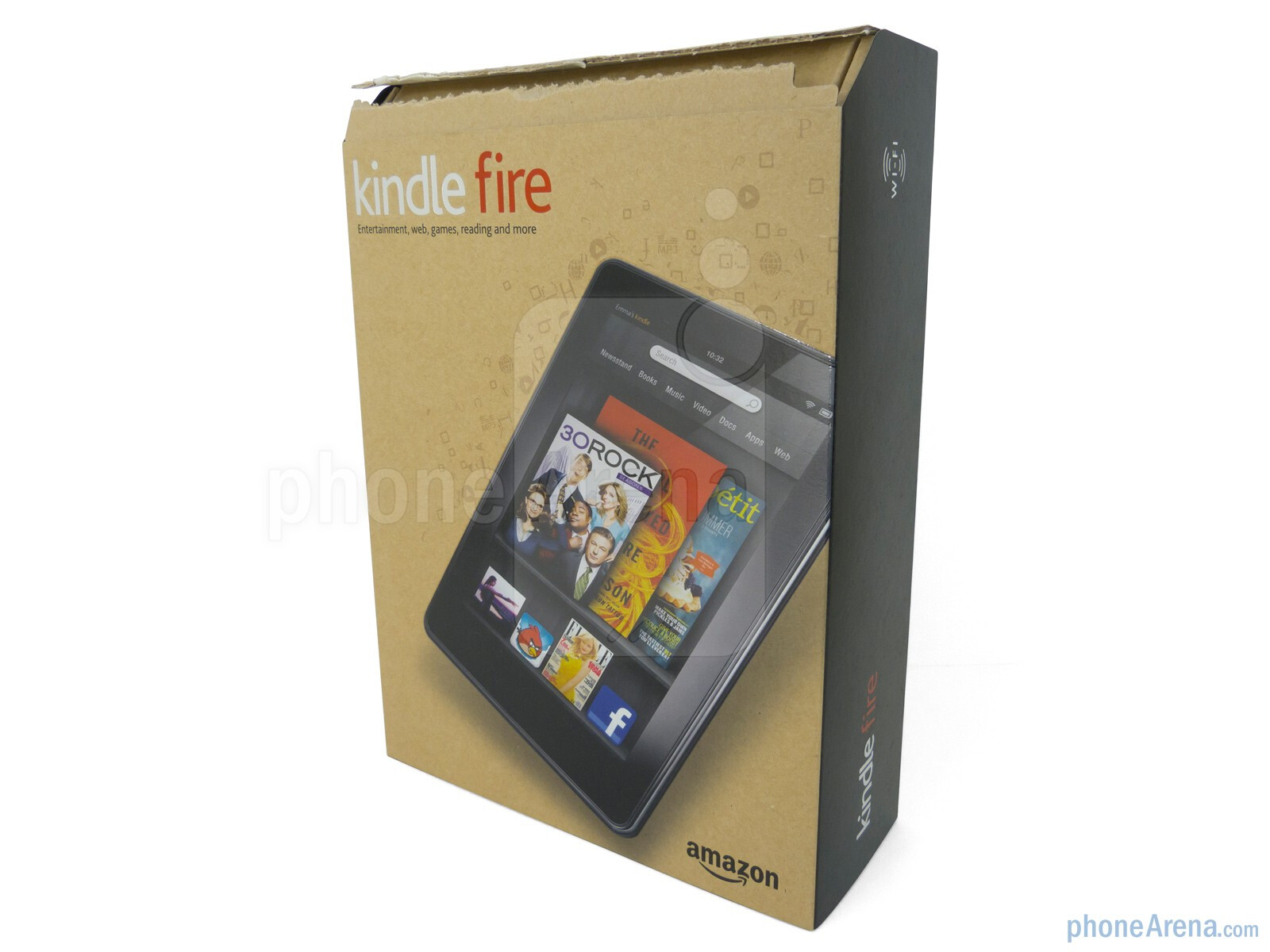 Kindle Vs Sony Reader: Amazon Kindle Fire Review