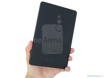 The Amazon Kindle Fire gives off that sensible feel in the hand - Amazon Kindle Fire Review