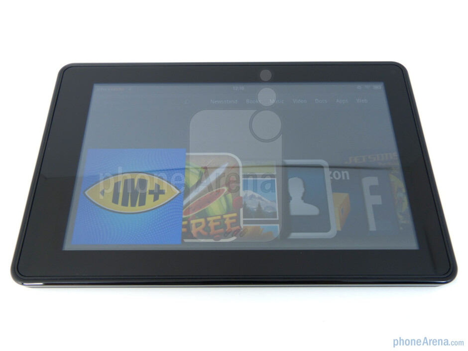 "The 7"" IPS LCD display of the Kindle Fire has broad viewing angles - Amazon Kindle Fire Review"