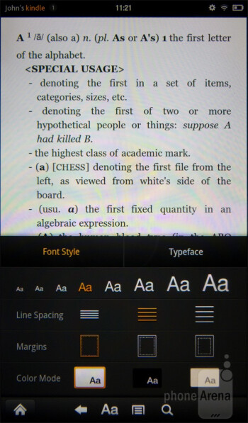 The reading experience on the Amazon Kindle Fire - Amazon Kindle Fire vs NOOK Tablet