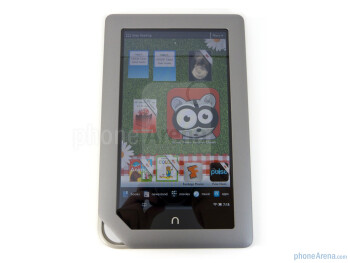"The Nook Tablet is graced with a 7"" VividView display - Barnes & Noble NOOK Tablet Review"