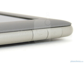 Volume rocker on the right edge - Barnes & Noble NOOK Tablet Review