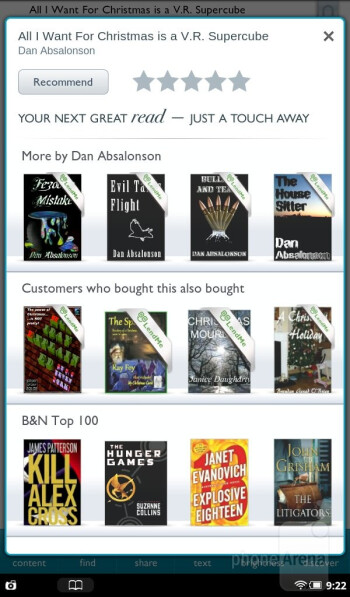 The Nook Tablet offers a resounding eBook reading experience - Barnes & Noble NOOK Tablet Review