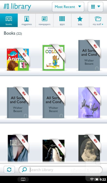 The  eBook reading experience on the Nook Tablet - Amazon Kindle Fire vs NOOK Tablet