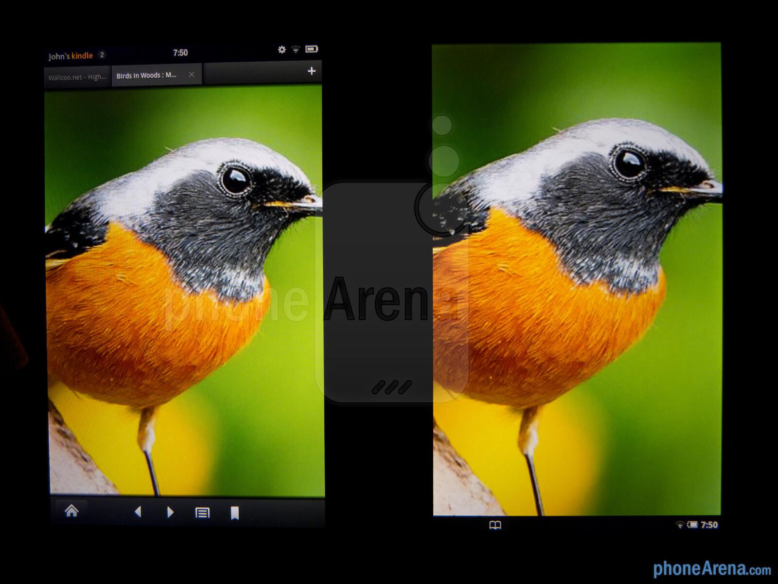 Amazon Kindle Fire vs NOOK Tablet - PhoneArena