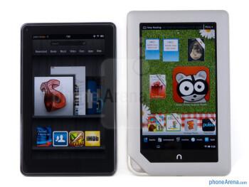 Amazon Kindle Fire vs NOOK Tablet
