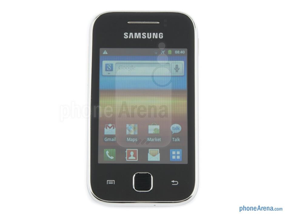 Front - Samsung Galaxy Y Review