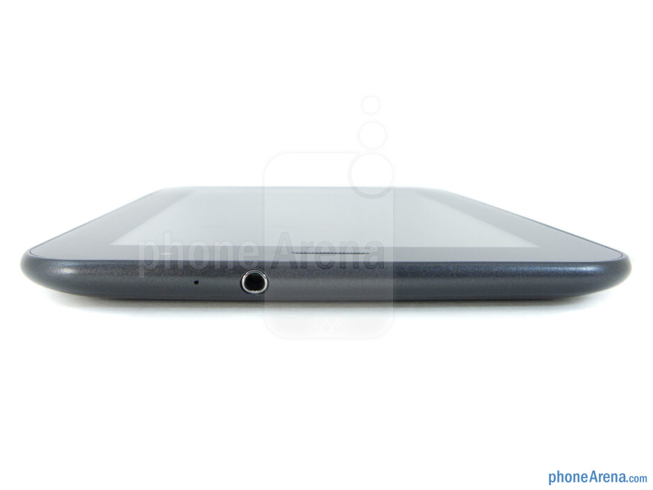 3.5mm jack (top) - Samsung Galaxy Tab 7.0 Plus Review